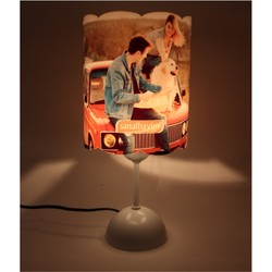 - Sublimasyon Fotoğraflı Gece Lambası LM100 Beyaz (1)