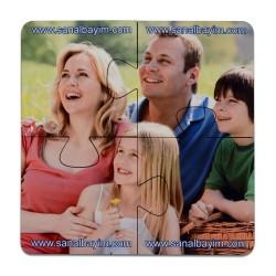 - Sublimasyon HDF Bardak Altı Puzzle HD2008 19cmx19cm