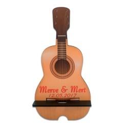 - Sublimasyon HDF Gitar Telefon Standı