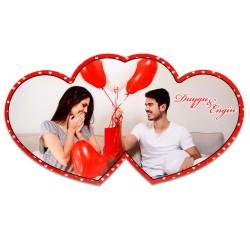 - Sublimasyon HDF İkili Kalp Çerçeve HD1005