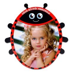 - Sublimasyon HDF Uğur Böceği Çerçeve HD1013