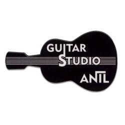 - Sublimasyon HDF Yaka İsimliği Gitar 40x70mm
