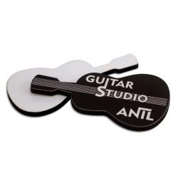 - Sublimasyon HDF Yaka İsimliği Gitar 40x70mm (1)
