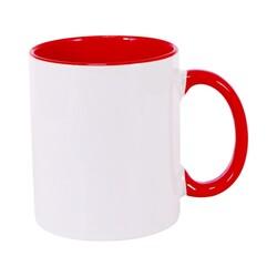 - Sublimasyon İçi Kırmızı İthal Kupa
