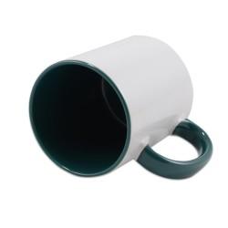 - Sublimasyon İçi Koyu Yeşil İthal Kupa (1)