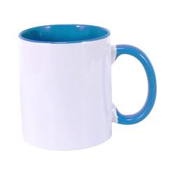 - Sublimasyon İçi Mavi İthal Kupa