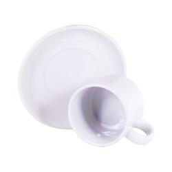 - Sublimasyon Nescafe Fincanı Tabaklı Beyaz (1)