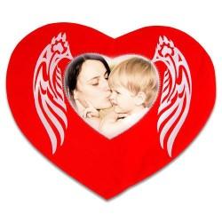 - Sublimasyon Kanatlı Taşlı Kalp Kılıf (1)
