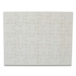 - Sublimasyon Kare Puzzle 30 Parça Özel