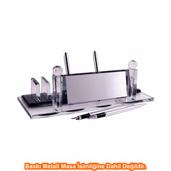 Digitronix - Sublimasyon Kristal Masa İsimliği KC501G