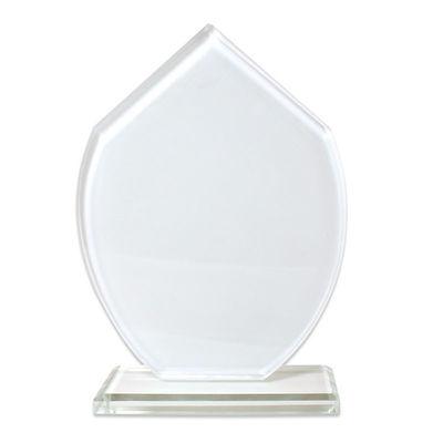 Sublimasyon Kristal Plaket Beyaz Turkuaz