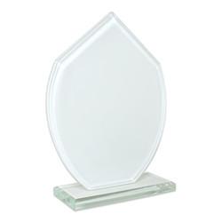 - Sublimasyon Kristal Plaket Beyaz Turkuaz (1)