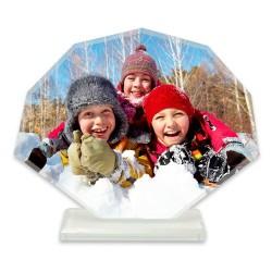 - Sublimasyon Kristal Plaket Beyaz Yelpaze