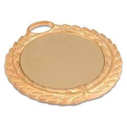 - Sublimasyon Madalya Altın 5,5 cm Çelenkli (1)