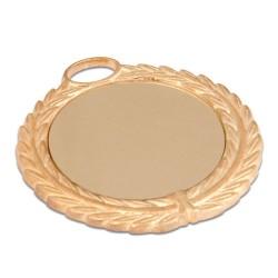 - Sublimasyon Madalya Altın 7 cm Çelenkli (1)