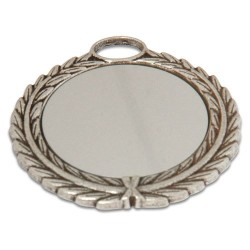 - Sublimasyon Madalya Gümüş 5,5 cm Çelenkli (1)