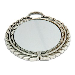 - Sublimasyon Madalya Gümüş 7 cm Çelenkli (1)