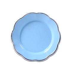 - Sublimasyon Magnet Tabak Mavi 5 cm-iç 3 cm