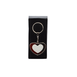 - Sublimasyon Metal Anahtarlık Kalp Çift Taraflı KR 10