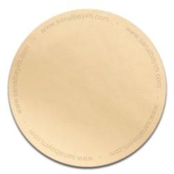 - Sublimasyon Metal Levha Aynalı Sarı 30x60