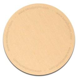 - Sublimasyon Metal Levha Parlak Sarı Eko 30x60