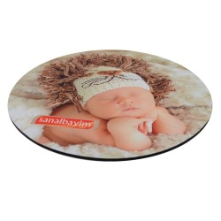 - Sublimasyon Mouse Pad 20 cm Yuvarlak 3mm (1)