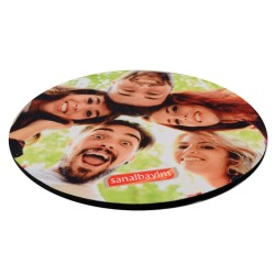 - Sublimasyon Mouse Pad 20 cm Yuvarlak 5mm (1)