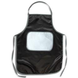 - Sublimasyon Mutfak Önlüğü Siyah