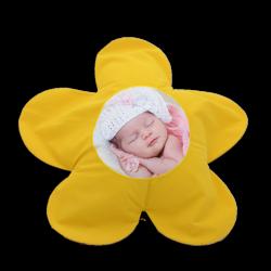 - Sublimasyon Papatya Sarı Yastık Kılıfı (1)