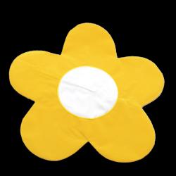 - Sublimasyon Papatya Sarı Yastık Kılıfı