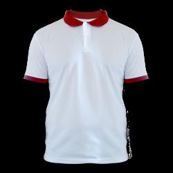 - Sublimasyon Polo Yaka Tişört XL Beden Kırmızı