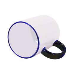 - Sublimasyon Sapı Çini Mavi Renkli İthal Kupa (1)