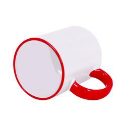 - Sublimasyon Sapı Kırmızı Renkli İthal Kupa (1)