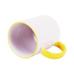 - Sublimasyon Sapı Sarı Renkli İthal Kupa (1)