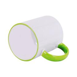 - Sublimasyon Sapı Yeşil Renkli İthal Kupa (1)