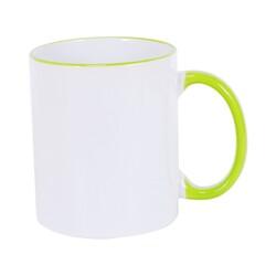 - Sublimasyon Sapı Yeşil Renkli İthal Kupa