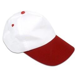 Eurotee - Sublimasyon Şapka Önü Kırmızı