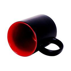 - Sublimasyon Sihirli İçi Kırmızı Kupa (1)