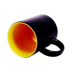 - Sublimasyon Sihirli İçi Sarı Kupa (1)