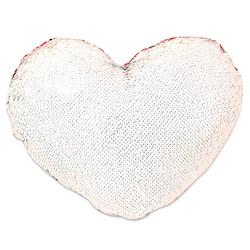 - Sublimasyon Sihirli Kalp Yastık Kırmızı (1)
