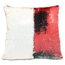 - Sublimasyon Sihirli Kare Yastık Kırmızı
