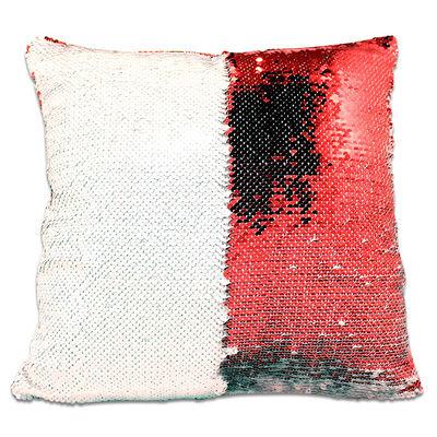Sublimasyon Sihirli Kare Yastık Kırmızı
