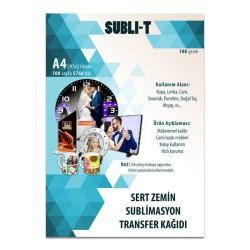 - Sublimasyon Transfer Kağıdı A4 Sert Zemin Subli-T