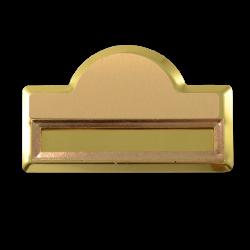 - Sublimasyon Yaka İsimliği KC3001 Altın Kubbe Geçmeli 4,5x7 cm (1)