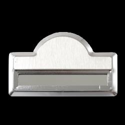 - Sublimasyon Yaka İsimliği KC3004 Gümüş Kubbe Geçmeli 4,5x7 cm (1)