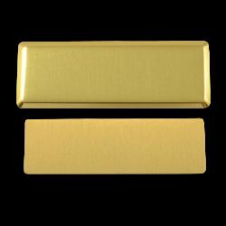 - Sublimasyon Yaka İsimliği KC3013 Altın Dikdörtgen (1)