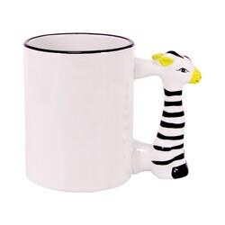 - Sublimasyon Zebra Figürlü Kupa Bardak