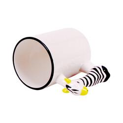 - Sublimasyon Zebra Figürlü Kupa Bardak (1)