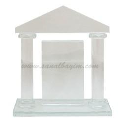 - Sütunlu Vip Kristal Plaket 1005
