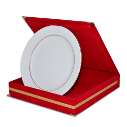 - Tabak Kutusu Kırmızı 20cm